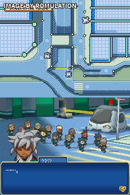 Inazuma Eleven 3 - Sekai e no Chousen! The Ogre for NDS screenshot