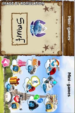 The Smurfs 2 for NDS screenshot