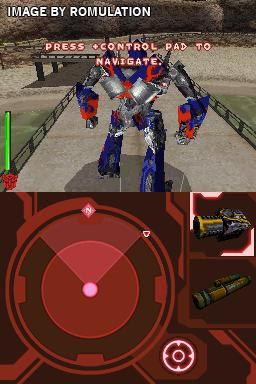 transformers autobots nds