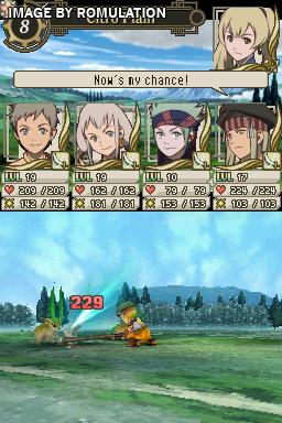 Suikoden - Tierkreis  for NDS screenshot