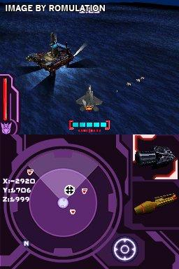 transformers decepticons ds how to get the jet