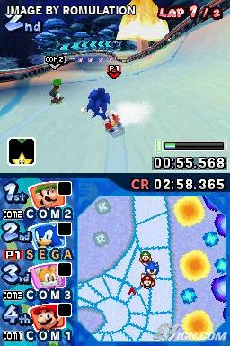 sonic ds games rom download