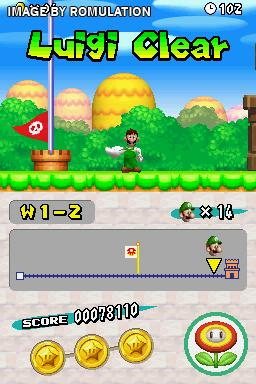 new super mario bros ds rom nds