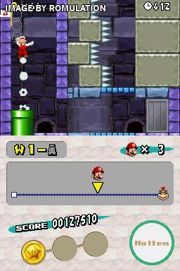 New Super Mario Bros.  for NDS screenshot