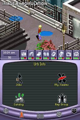 Urbz - Sims in the City, The  for NDS screenshot