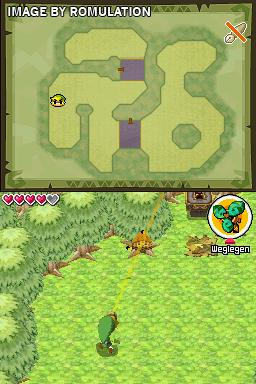 Legend of Zelda - Spirit Tracks, The  for NDS screenshot