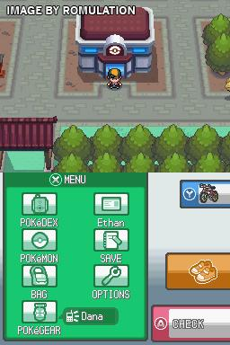 Pokemon - Soul Silver Version  for NDS screenshot