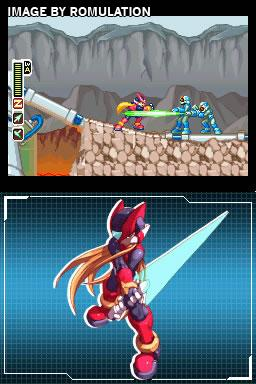 MegaMan Zero Collection  for NDS screenshot