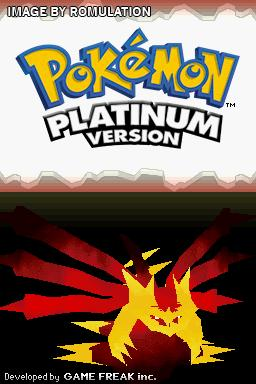 Pokemon - Platinum Version  for NDS screenshot