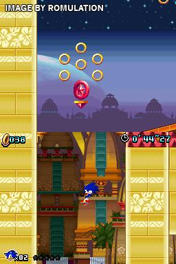 Sonic Colors  for NDS screenshot