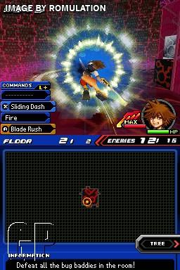 Kingdom Hearts - Re-Coded  for NDS screenshot