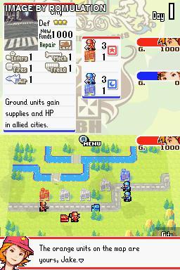 Advance Wars: Dual Strike (USA) DS ROM | Cdromance