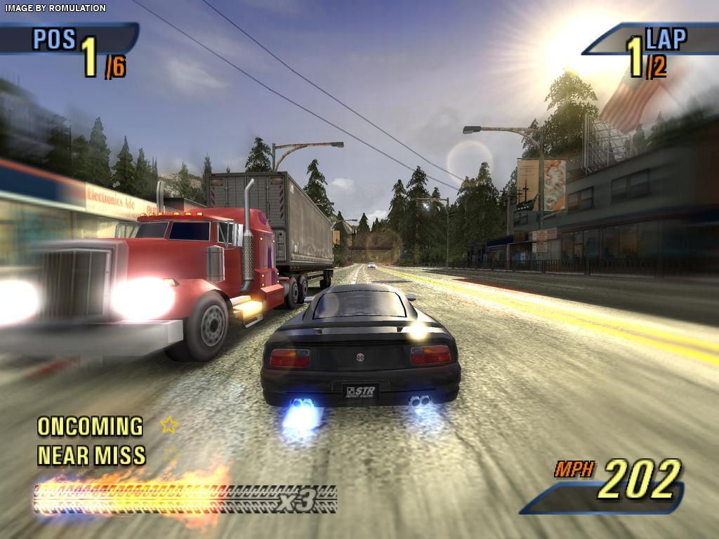 Burnout 3 - Takedown (USA) PS2 / Sony PlayStation 2 ISO Download