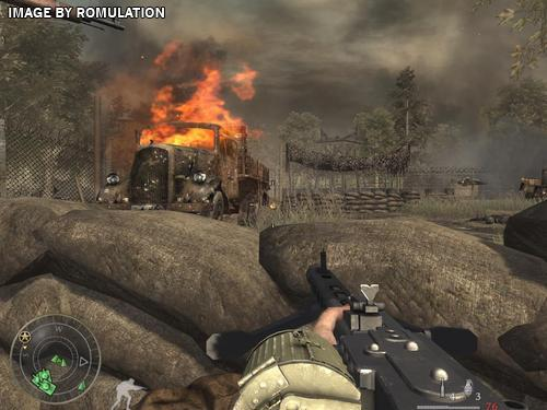 call of duty world at war final fronts usa ps2 sony