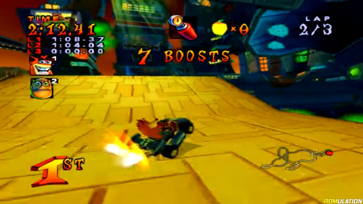 crash nitro kart gamecube iso español