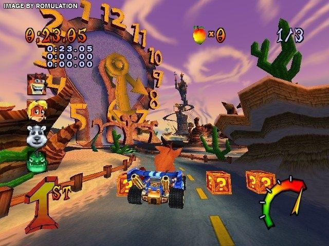 Crash Tag Team Racing (USA) PS2 / Sony PlayStation 2 ISO
