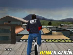 Dave Mirra Freestyle BMX 2 for PS2 screenshot