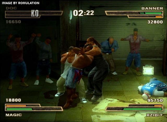 Def Jam - Fight for NY (USA) PS2 / Sony PlayStation 2 ISO ...