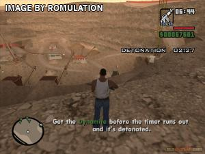 Grand Theft Auto - San Andreas for PS2 screenshot