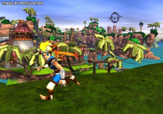 Jak And Daxter Overview World Map Ps2 Playstation 2 Ps3: The Precursor Legacy (USA) PS2 / Sony