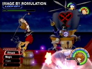 Kingdom Hearts for PS2 screenshot