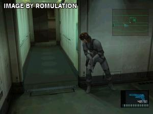 Metal Gear Solid 2 - Sons of Liberty for PS2 screenshot