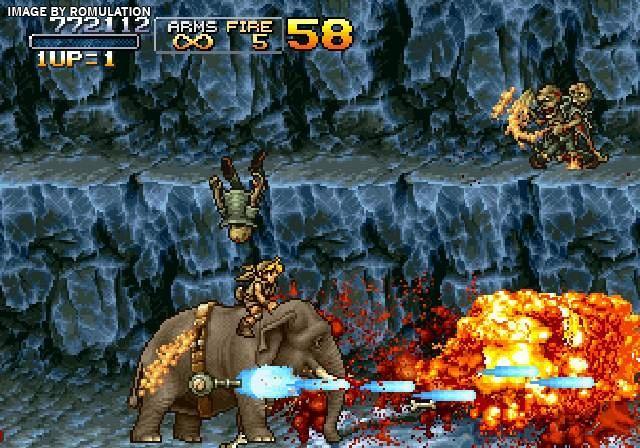 Metal Slug Anthology (USA) PS2 / Sony PlayStation 2 ISO Download