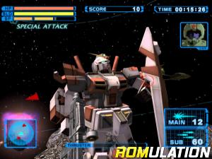 Mobile Suit Gundam - Encounters in Space for PS2 screenshot