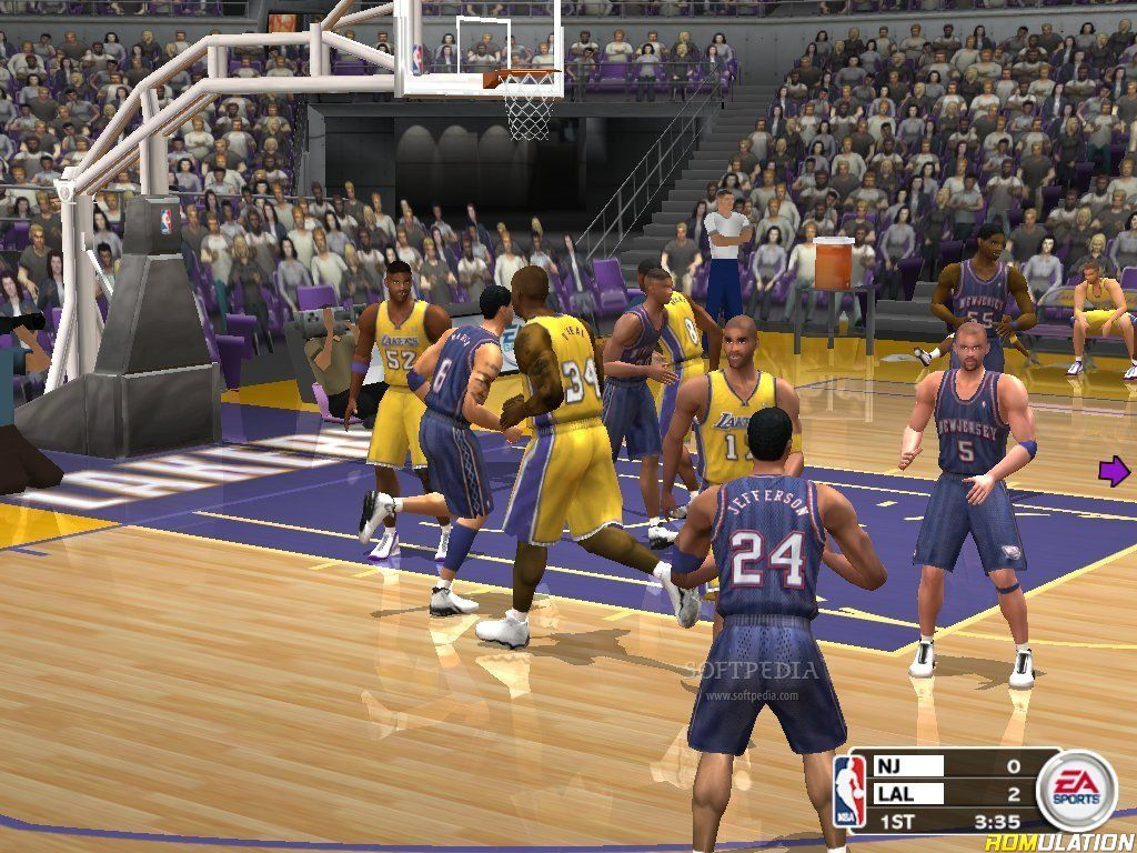 Nba Live 2003  Usa  Ps2    Sony Playstation 2 Iso Download