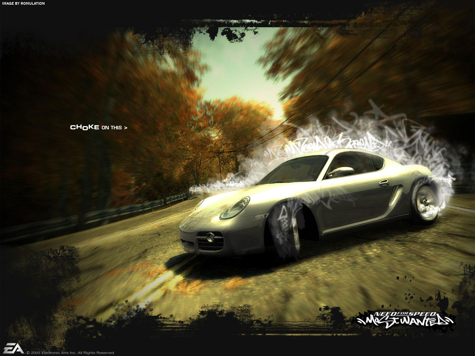 Need for Speed - Most Wanted (USA) PS2 / Sony PlayStation 2