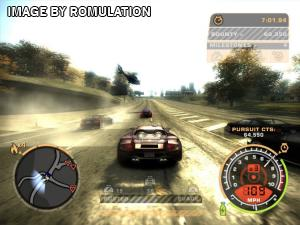 Need for Speed - Most Wanted for PS2 screenshot