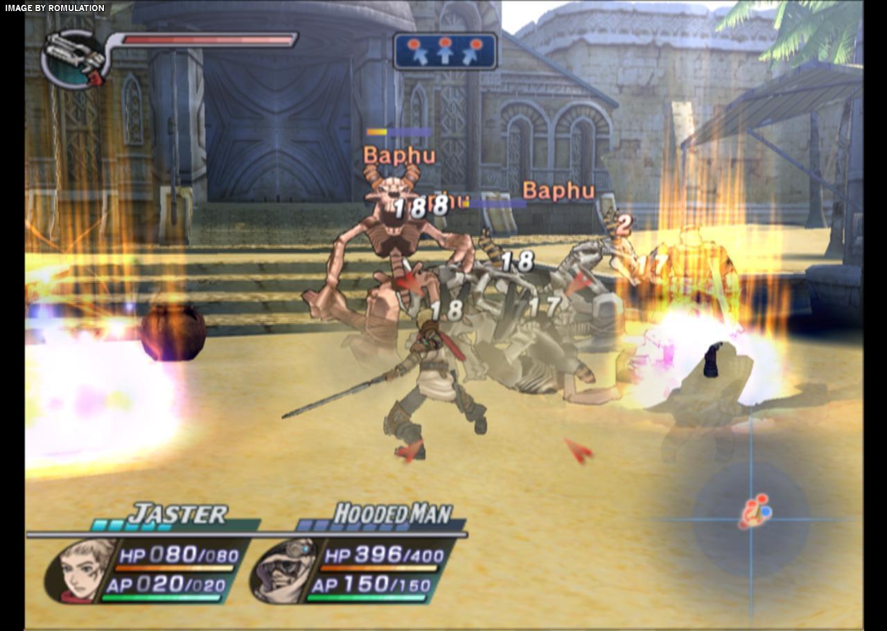 Rogue Galaxy (USA) PS2 / Sony PlayStation 2 ISO Download