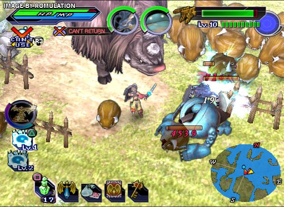 Shining Force EXA (USA) PS2 / Sony PlayStation 2 ISO