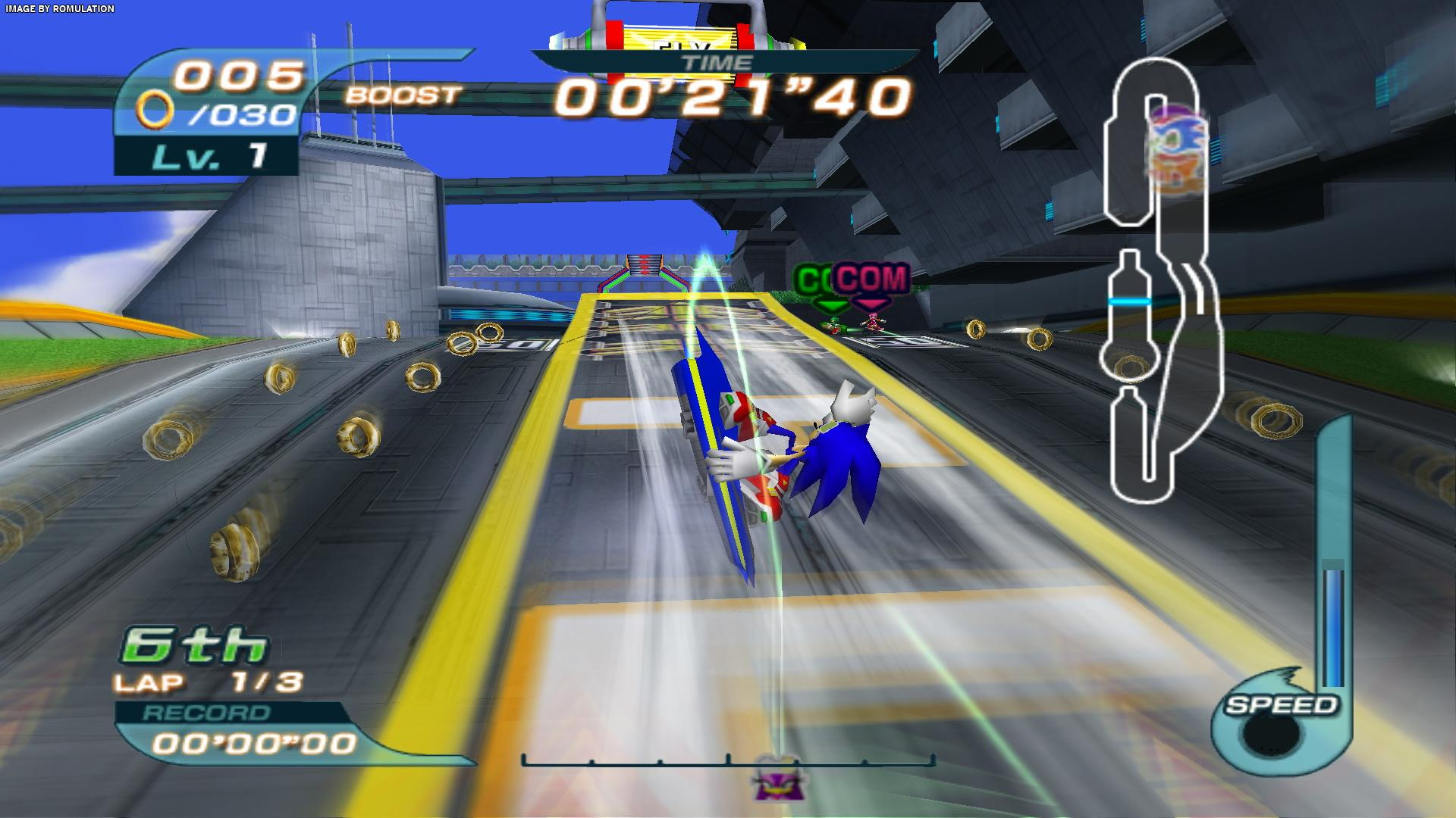 Sonic Riders (USA) PS2 / Sony PlayStation 2 ISO Download | RomUlation