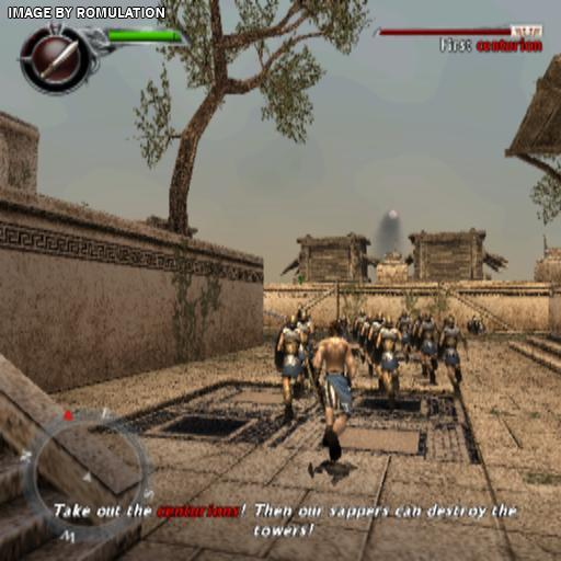 Spartan Total Warrior Usa Ps2 Sony Playstation 2 Iso Download