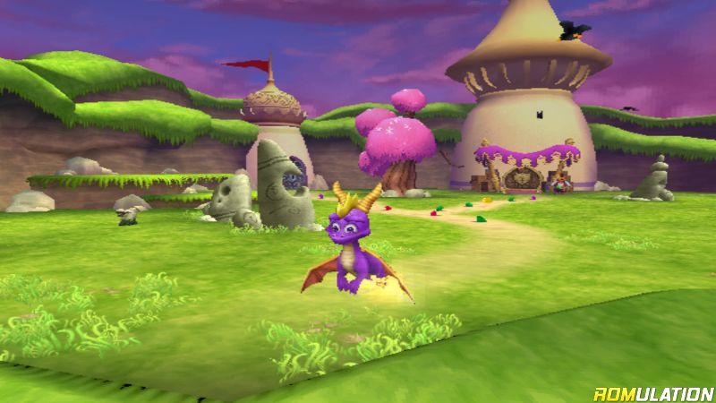 Spyro - A Hero's Tail (USA) PS2 / Sony PlayStation 2 ISO