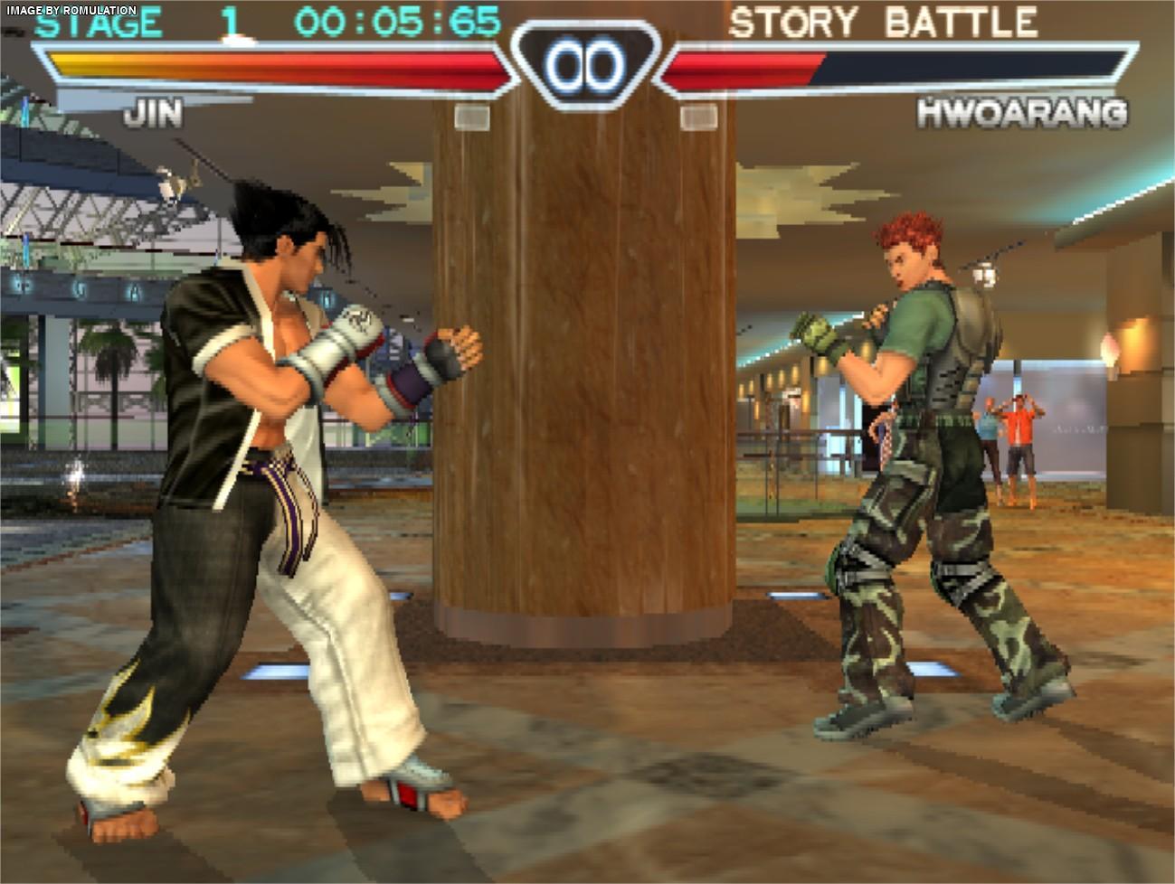 Tekken 4 Usa Sony Playstation 2 Ps2 Iso Download Romulation