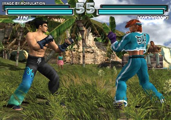 Tekken Tag Tournament Usa Sony Playstation 2 Ps2 Iso Download