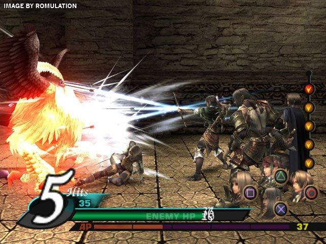 Valkyrie profile covenant of the plume (europe) nds / nintendo.