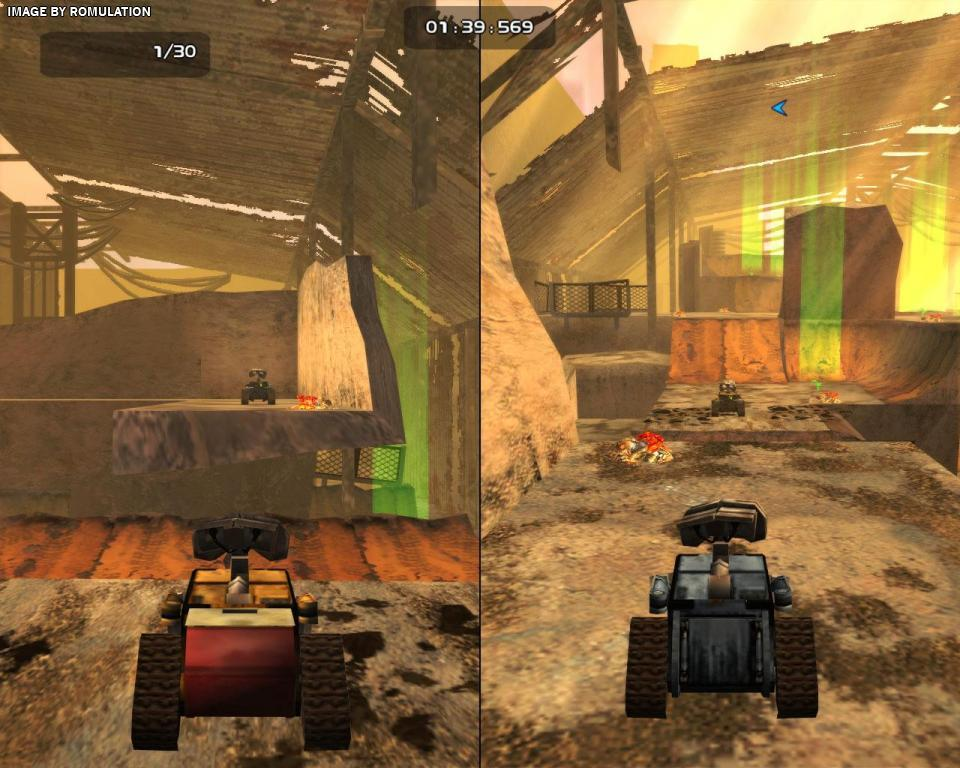 Wall-E (USA) PS2 / Sony PlayStation 2 ISO Download