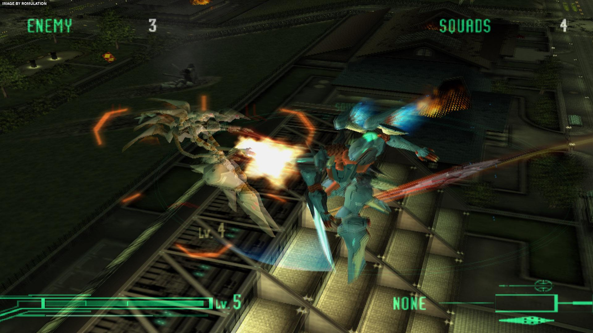 Zone of the Enders (USA) PS2 / Sony PlayStation 2 ISO