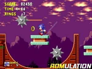 Sonics Ultimate Genesis Collection for PS3 screenshot