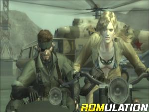 Metal Gear Solid HD Collection for PS3 screenshot