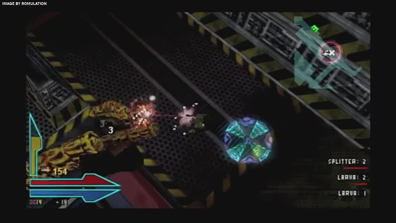 alien syndrome europe psp playstation portable iso