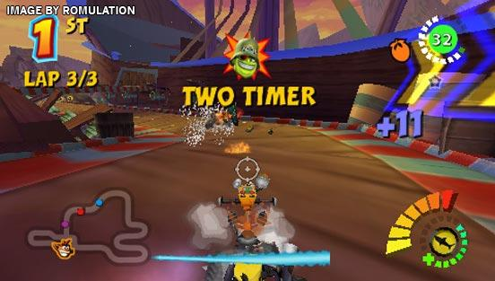 Crash Tag Team Racing (USA) PSP / PlayStation Portable ISO ...