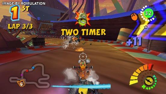 Crash Tag Team Racing (USA) PSP / PlayStation Portable ISO ...