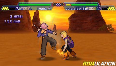 Dragon Ball Z - Shin Budokai (USA) PSP / PlayStation