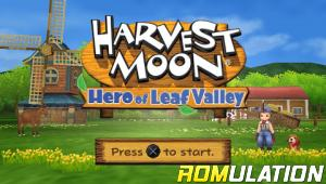 Harvest Moon - Hero of Leaf Valley for PSP screenshot