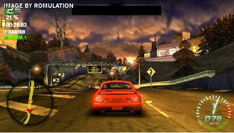 Need For Speed Carbon Own The City Usa Playstation Portable