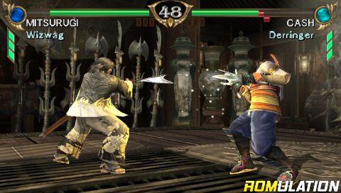 Soul Calibur - Broken Destiny (USA) PSP / PlayStation